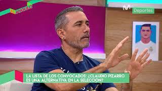 Al Ángulo: Claudio Pizarro y sus virtudes que ofrece a favor de la Selección