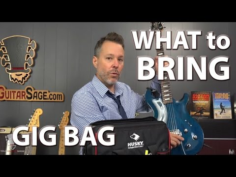 What To Bring in Your Gig Bag