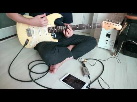 Testing IRig UA & Amplitube UA for Android -1