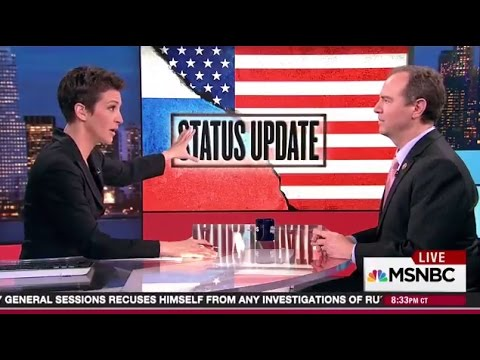Rep. Schiff Discusses Testimony of FBI Director with MSNBC's Rachel Maddow
