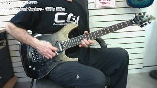 Brett Funk - Guitar Improv - 2018 - Schecter C-1 FR S SLS Elite - Webcam Test
