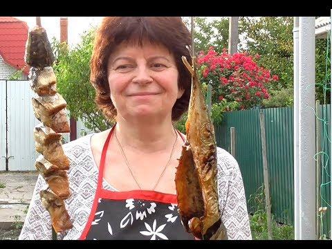 СКУМБРИЯ на МАНГАЛЕ на ШАМПУРАХ  Рецепт нежной и сочной  рыбы на шампурах.