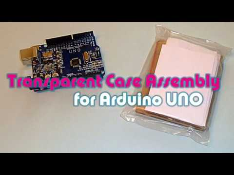 Transparent Case Assembly For Arduino UNO