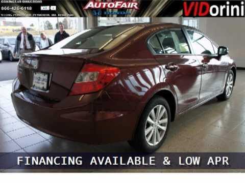Superb 2012 Honda Civic Plymouth MA