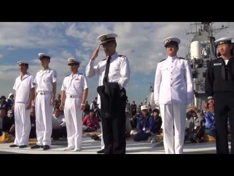 2012 自衛隊観艦式にて 海上自衛隊 制服等の紹介