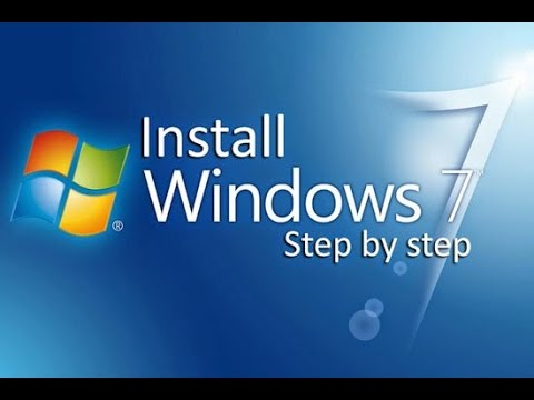 how to install window 7 using CD or USB drive??