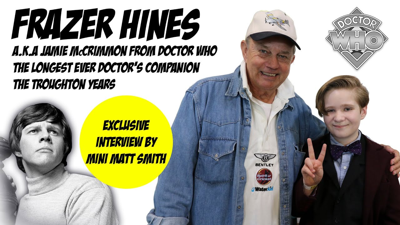 doctor who interview frazer hines a k a jamie mccrimmon doctor who interview frazer hines a k a jamie mccrimmon