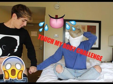 Touch my body challenge w/ #Brikey