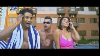 vuclip Monalisa hot in Raja Babu Movie. Hot bikini and massive cleavage!
