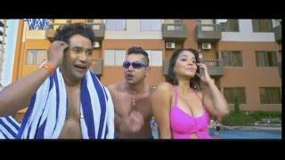 Monalisa hot in Raja Babu Movie. Hot bikini and massive cleavage!