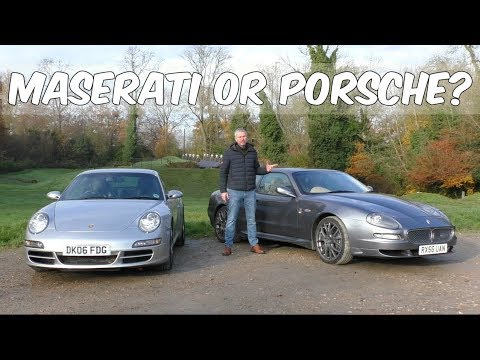 Is the 911 really the best all round sports car? Maserati GranSport Vs 997 C2S