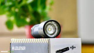Đèn pin siêu sáng chiếu xa tới 180m độ sáng 220 lumen ELORA Germany