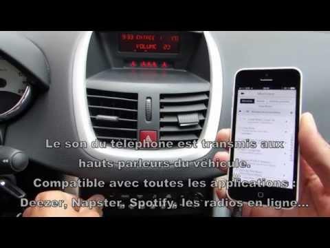 Une solution simple pour connecter son smartphone sur l'autoradio d'origine