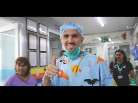 Visita al Hospital Infantil de Torreón - Club Santos