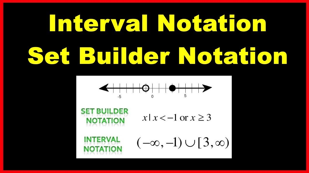 Converting Interval Notation To Set Builder Notation Notations Math Tutorials Email Subject Lines Addition rational expression calculator