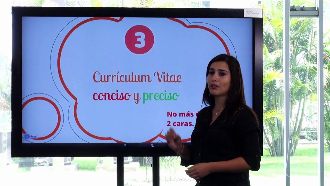 PUCP - Consejos para elaborar un buen Curriculum Vitae - YouTube