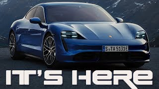 The Porsche Taycan Is Here   Ready To Take Names