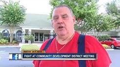Argument at Pasco Co. Community Development District meeting turns violent
