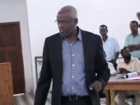 Lawyer Abdiwahid Osman Haji at Regional Court of Benadir Mog