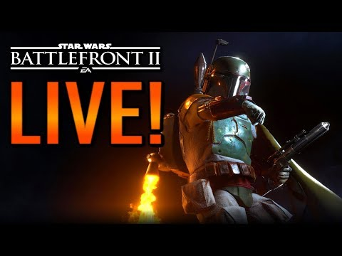 Star Wars Battlefront 2 LIVE STREAM! XP + Credit Grind