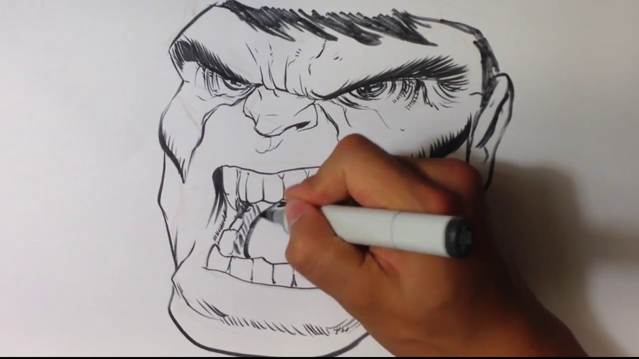 angry anime face drawing - photo #28