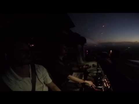 Night Flying Lesson in a C172