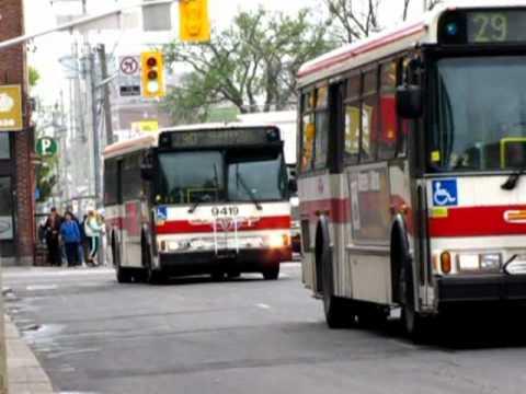 Toronto Transit Commission Bus System Youtube