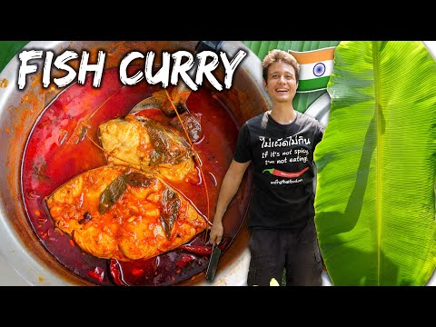 Indian Street Food 🇮🇳 !! Spicy Kerala Fish Curry Recipe! 🐟 🌶️ | Street Food at Home Ep. 2