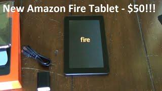 Video 2015 Amazon Fire Tablet (5th Gen)!  Best Tablet For $50!!! download MP3, 3GP, MP4, WEBM, AVI, FLV Mei 2018