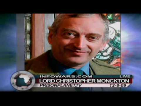 Lord Monckton at Copenhagen-Systematic Evidence of Widescale Meterological Fraud