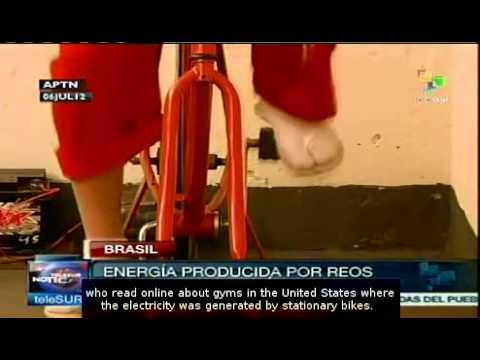 Prisoners generate electricity in Brazil