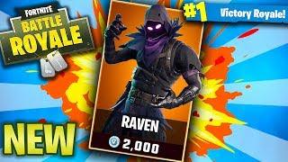 Fortnite NEW RAVEN Skin! Fortnite Battle Royale Updated Skins! (Fortnite Battle Royale)