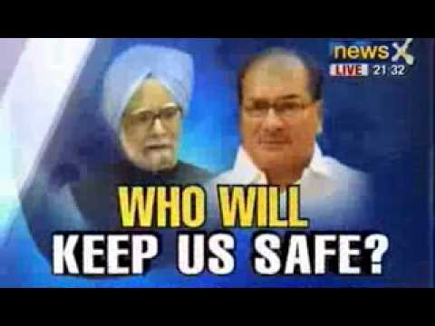 NewsX Debate: Who will keep india safe ?