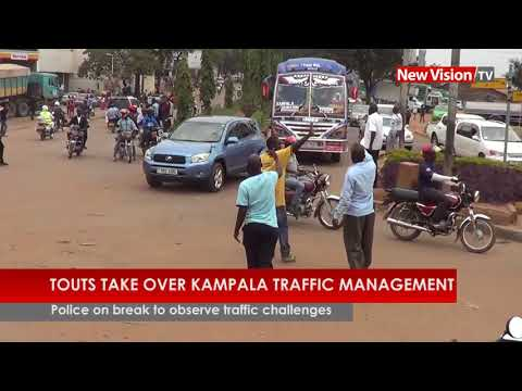 Touts take over Kampala traffic management