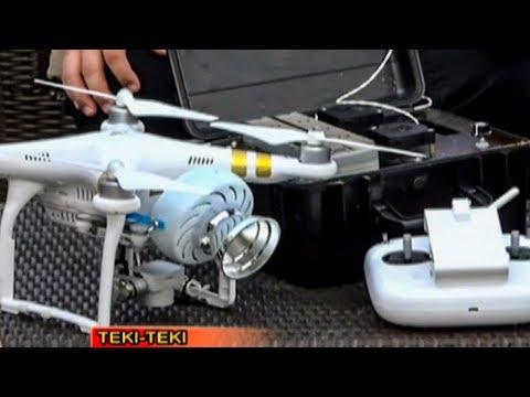 Tethered Drones | Teki Teki