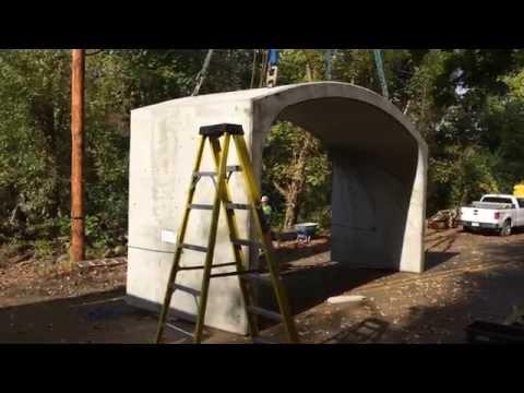 Church Road Bridge Culvert Erection