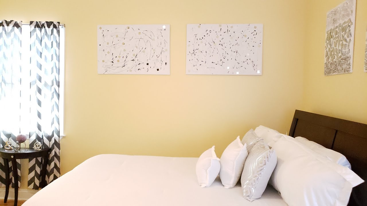 DIY: Modern And Contemporary Wall Art - YouTube
