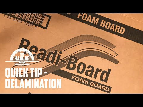 DIY Tips and Tricks - Foam Board Delamination - Working with FoamBoard