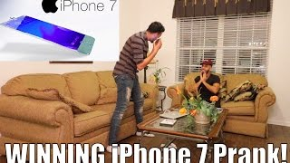 Winning Free iPhone 7 Prank!