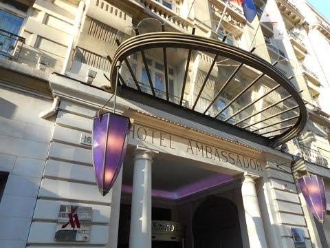 2016   France, Marriott Paris Opera Ambassador Hotel, bvd Haussmann, Galeries Lafayette, extérieurs
