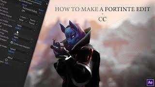 How to make a Fortnite Edit / After Effects Tutorial