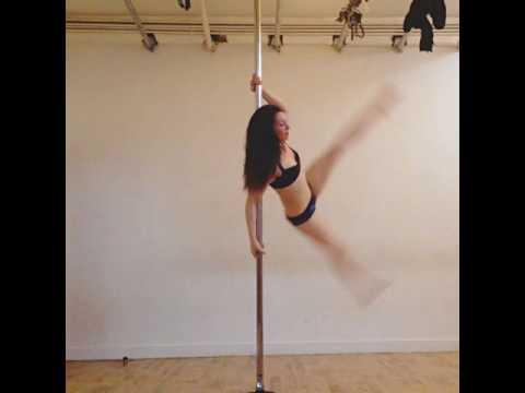 Pole Dance Swings Flips and Combos 2017