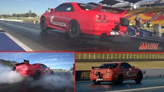 Wild Ride! 8-second R33 GT-R - Motorsports Mechanical