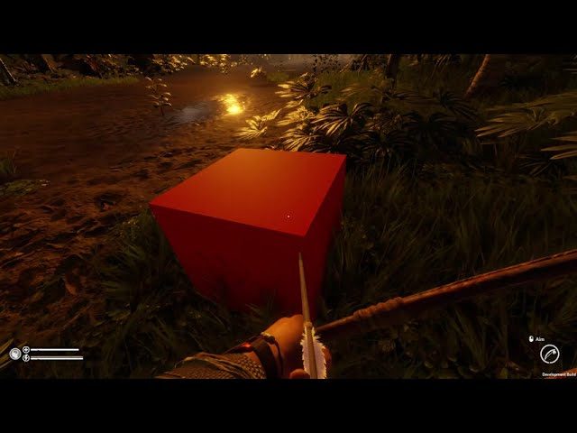 What's this? Found a red cube at the air strip - Green Hell Public Test branch