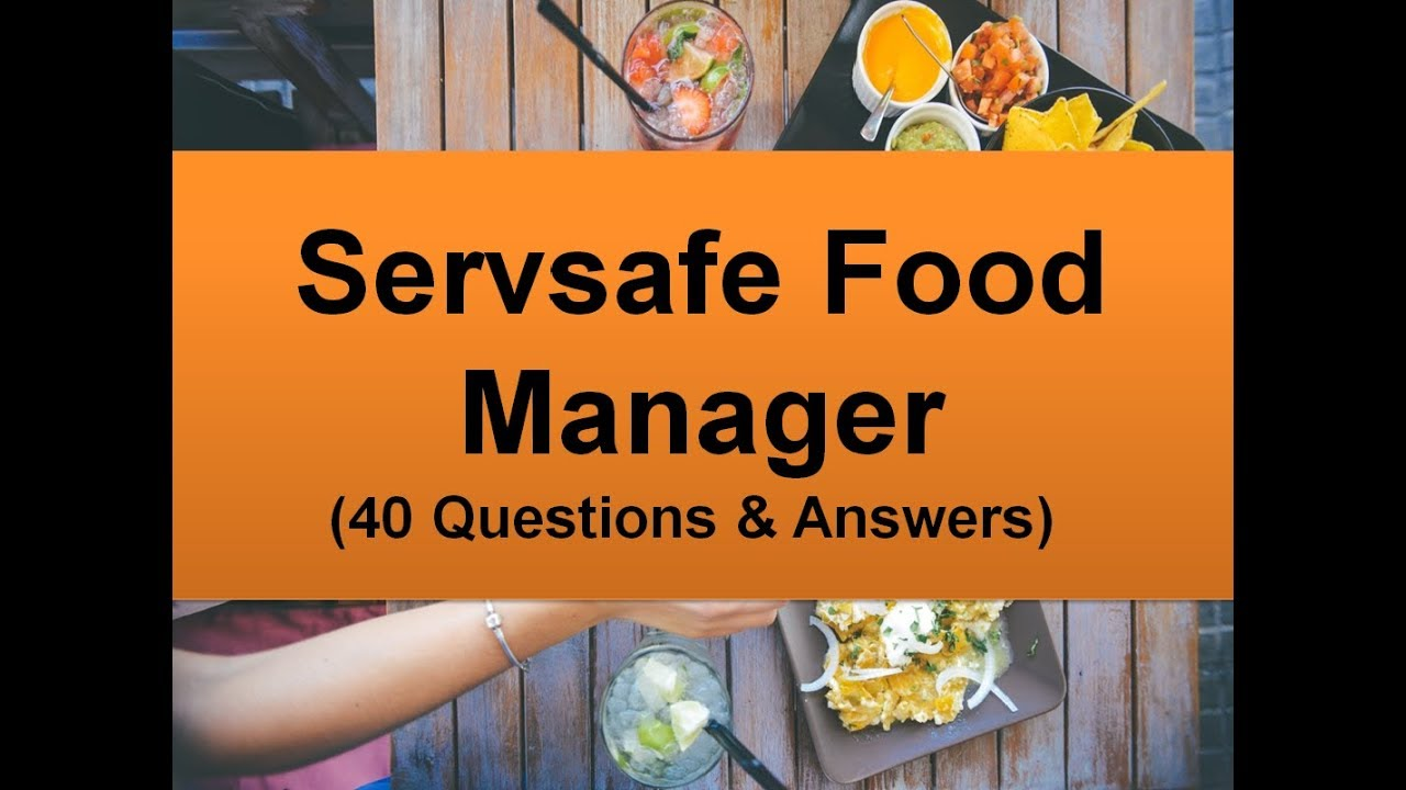 is the food safety manager exam hard