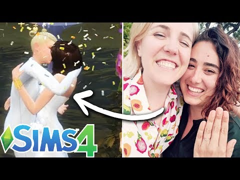 Ella & Hannah Hart Design Their Dream Wedding In The Sims 4