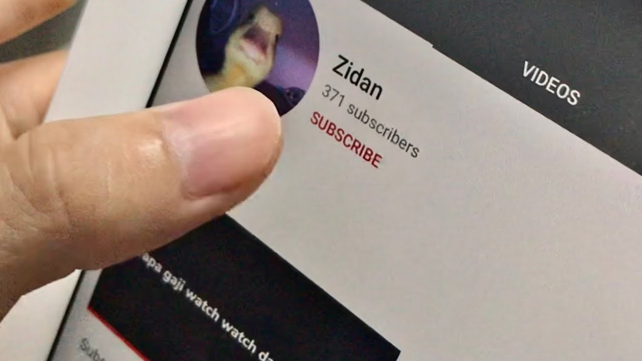 Subscribe Lord Zidan