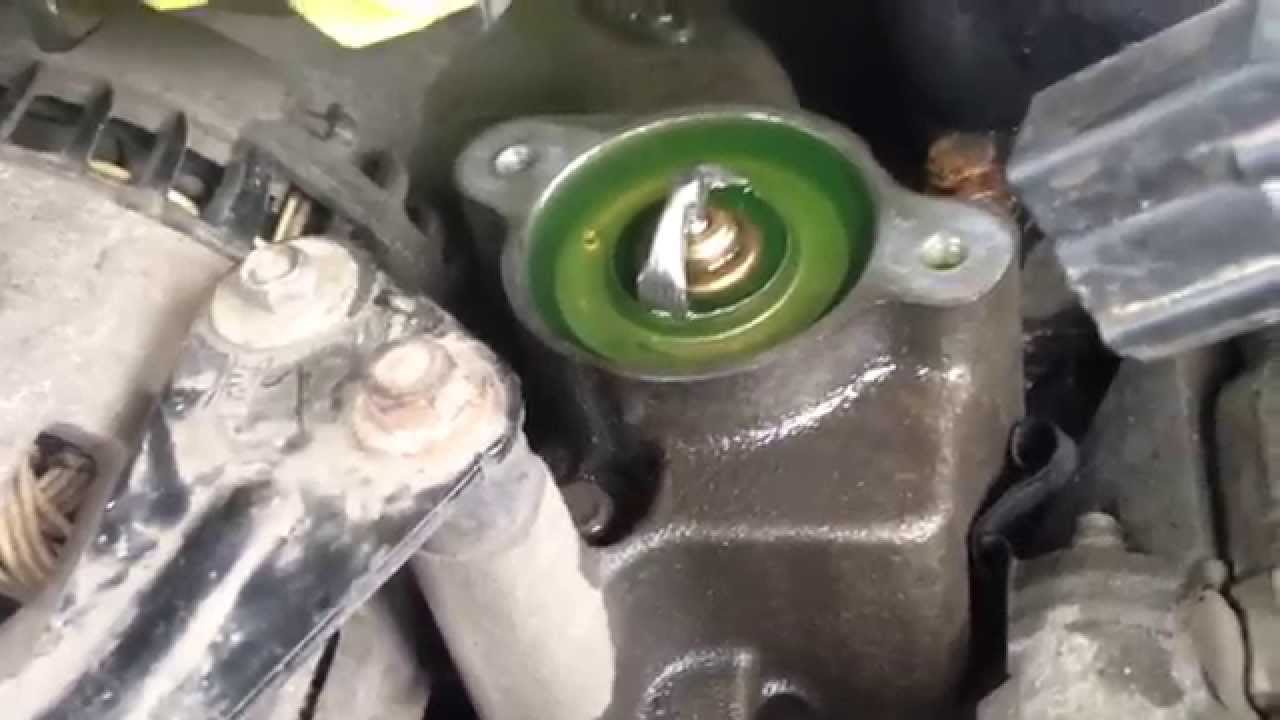 hight resolution of mercury mountaineer ford explorer how to replace thermostat 4 6 3v youtube