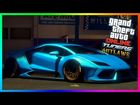 GTA 5 NEW TUNERS & OUTLAWS VEHICLES  TEMPESTA CUSTOM SUPERCAR, WIDEBODY SENTINEL & DRIFT TAMPA V2!