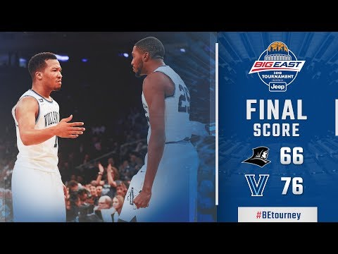#BEtourney Championshp Highlights: Villanova vs. Providence